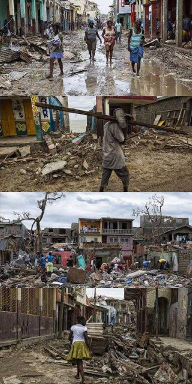 Hurricane Matthew Damage in Haiti